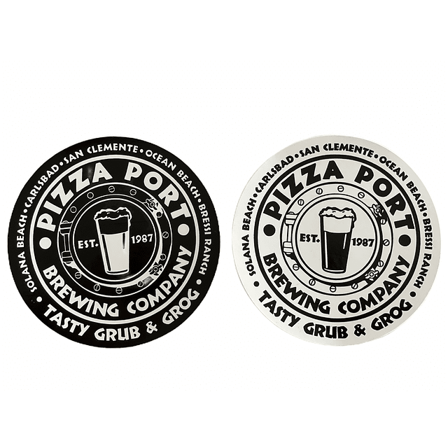 Pack stickers Pizza Port