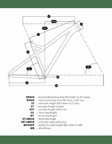 MARCO HORNET ENDURO-DH 2021 ARO 27.5 - 27.5+ VERDE ARMY DARTMOOR