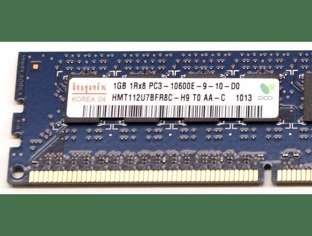 Memoria Ram 1gb / 1333Mhz EDIMM PC3-10600E / Ecc Unbuffered / 500208-562