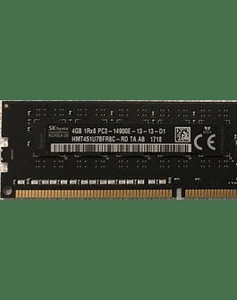 Memoria Ram 4gb / 1866Mhz EDIMM PC3-14900E / Ecc Unbuffered / 733036-581