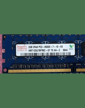 Memoria Ram 2gb / 1066mhz EDIMM PC3-8500E / Ecc Unbuffered
