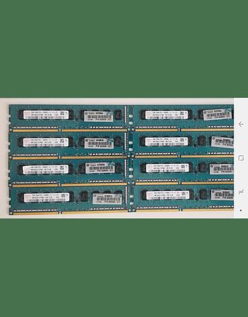 Memoria Ram 2gb / 1600mhz EDIMM PC3L-12800E / Ecc Unbuffered  / 1.35v / 662608-571