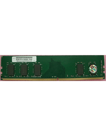 (A Pedido) Memoria Ram 8gb / 2400Mhz EDIMM PC4-19200E - 2400T / Ecc Unbuffered