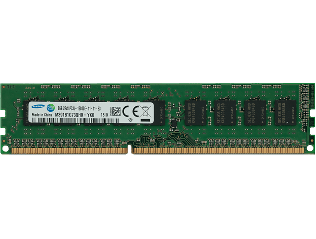 Memoria Ram 8gb / 1600Mhz EDIMM PC3L-12800E  / Ecc Unbuffered / 1.35v / 715281-001 / IBM 47J0217