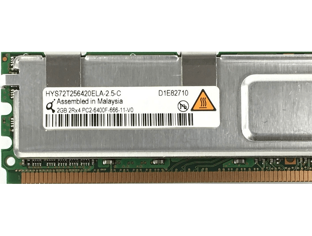 Memoria Ram 2gb / 667mhz FBDIMM PC2-5300F / Fully Buffered