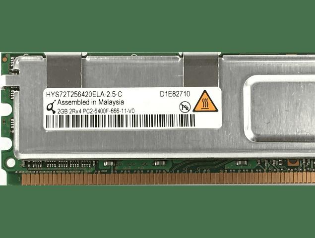 Memoria Ram 2gb / 800Mhz FBDIMM PC2-6400F / Fully Buffered