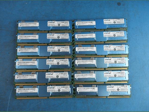 Memoria Ram 8gb / 667mhz FBDIMM PC2-5300F / Fully Buffered