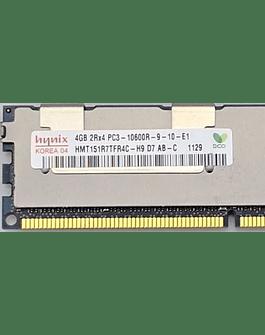 Memoria Ram 4gb / 1333Mhz RDIMM PC3-10600R / Ecc Registered / 500203-061