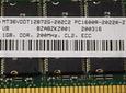 Memoria Ram 1gb / 200Mhz RDIMM PC2-1600R / Ecc Registered / CL2 2.5Volts