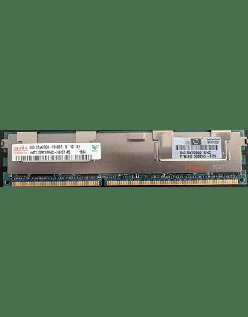 Memoria Ram 8gb / 1333Mhz RDIMM PC3-10600R / Ecc Registered / 500205-071