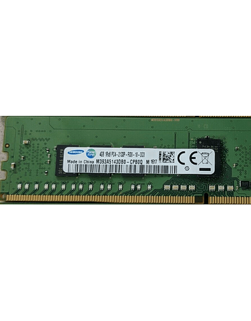 (A Pedido) Memoria Ram 4gb / 2133Mhz RDIMM PC4-17000R - 2133P / Ecc Registered / 752367-081 774169-001