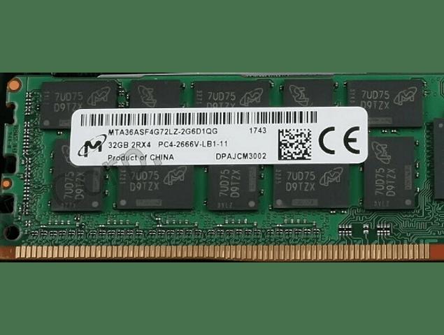 (A Pedido) Memoria Ram 32gb / 2666Mhz RDIMM PC4-21300R - 2666V-R / Ecc Registered / 815100-B21 840758-091