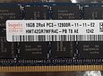 Memoria Ram 16gb / 1600mhz RDIMM PC3L-12800R / Ecc Registered / 1.35v