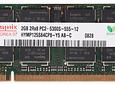 Memoria Ram 2gb / 667Mhz SODIMM PC2-5300S