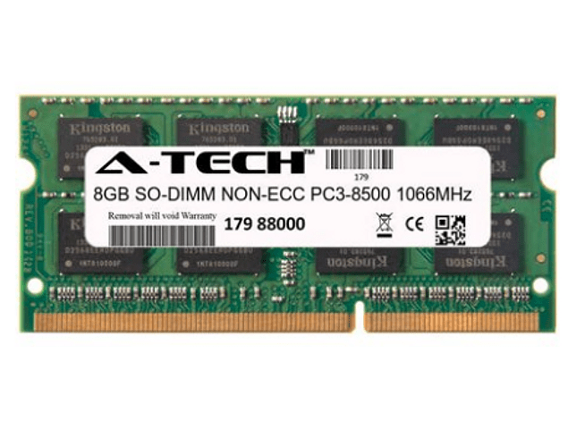 Memoria Ram 8gb / 1066mhz SODIMM PC3-8500S