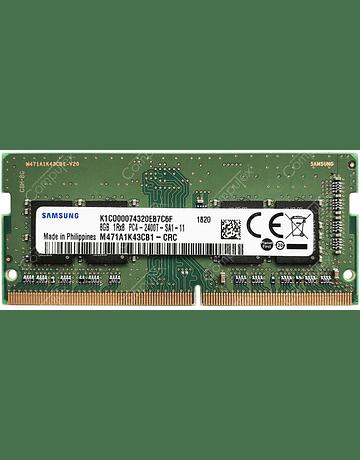Memoria Ram 8gb / 2400Mhz SODIMM PC4-19200S - 2400T