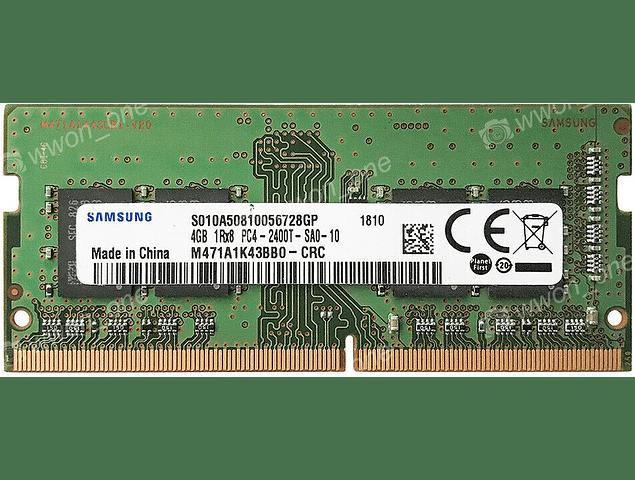 Memoria Ram 4gb / 2400Mhz SODIMM PC4-19200S - 2400T