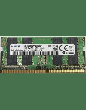 Memoria Ram 16gb / 2666Mhz SODIMM PC4-21300S - 2666V