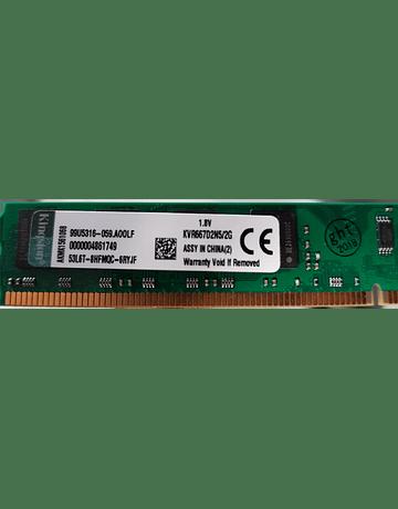 Memoria Ram 2gb / 667Mhz UDIMM PC2-5300U