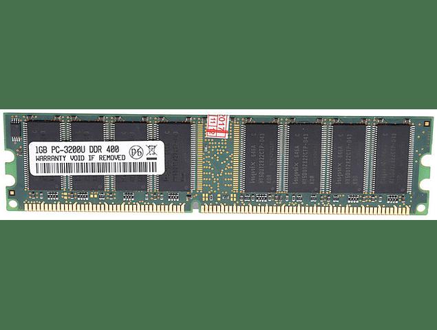 Memoria Ram 1gb / 400Mhz UDIMM PC2-3200U