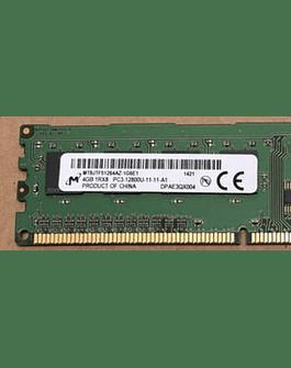 Memoria Ram 4gb / 1600Mhz UDIMM PC3-12800U