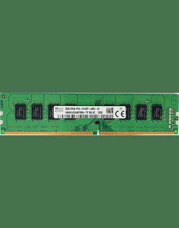 Memoria Ram 8gb / 2133Mhz UDIMM PC4-17000U - 2133P