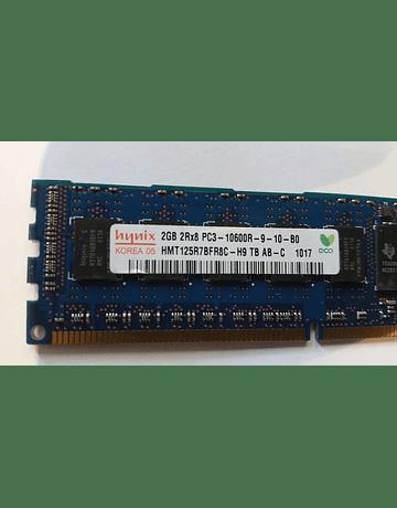 Memoria Ram 2gb / 1333Mhz RDIMM PC3-10600R / Ecc Registered