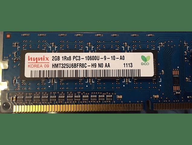 Memoria Ram 2gb / 1333Mhz UDIMM PC3-10600U / 497157-D88