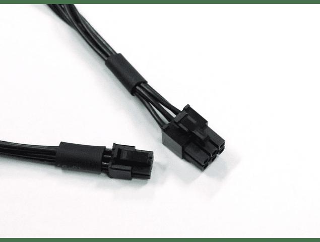 Tarjeta de VideoCable Mini 6 Pin To PCIE 6 Pin Cable de poder para tarjeta de video Apple MacPro Mac G5 Mac Pro