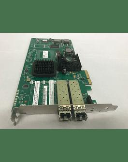 Tarjeta de Fibra Optica Apple MA900G/A LSI Logic LSI7202EP Dual 2GB Fibre Channel PCIe 2.0 x8 NIC 03-00103-01D para Apple Xserve