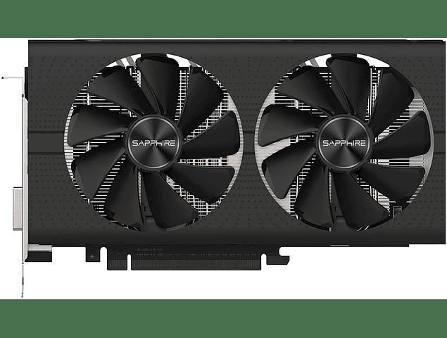 Tarjeta de Video Sapphire Pulse Radeon RX 580 4Gb GDDR5 Dual HDMI DVI-D Dual DP Graphics Card MacPro Mojave Metal