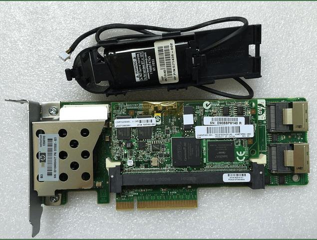 Bateria Controladora HP Smart Array  P410 512mb FBWC HP 572532-B21 con Bateria 571436-002