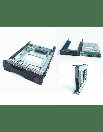 """Caddy adaptador 2.5"""" a 3.5"""" SSD de 2.5""""  especial HP 654540-001 DELL IBM server y Apple Macpro"""