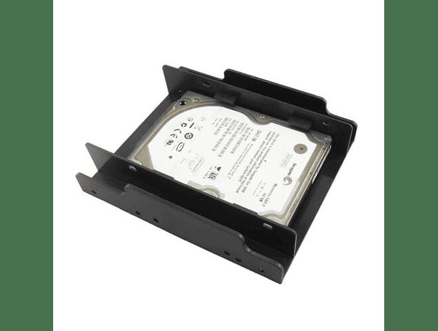 Caddy Adaptador de 3.5 A 2.5 De Dos Dicos Duros O 2 SSD De 2.5 Caddy