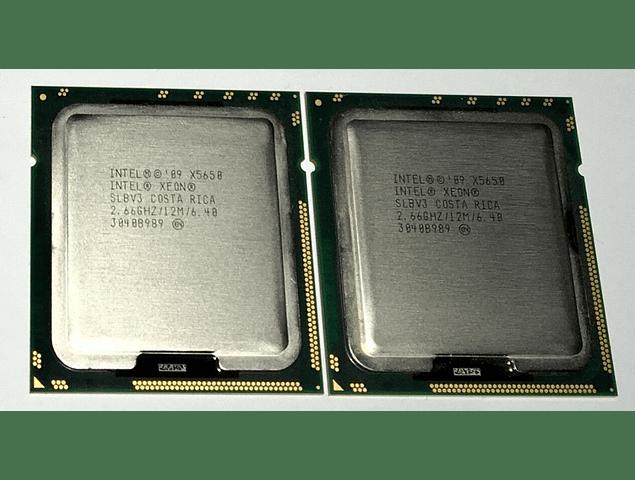 CPU Intel Xeon X5650 6-Core 2.66GHz 12MB 6.4GT/s LGA1366 SLBV7 Server CPU Processor