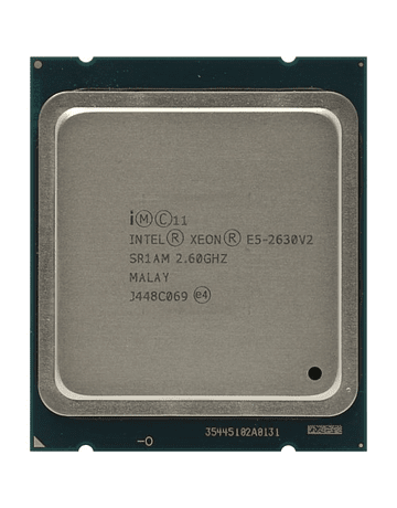 CPU Intel Xeon E5-2630v2 SR1AM 2.6GHz Six 6-Core LGA 2011 Socket R Server CPU Processor