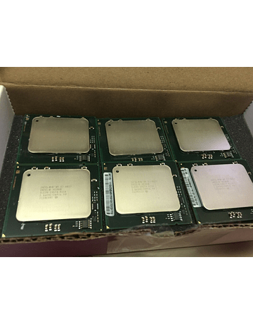 CPU Par Identico de Intel Xeon  E7-8837 2.67 GHz Eight Core SLC3N 8 cores 16 cores total Server CPU Processor