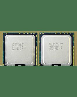 CPU Par Identico de Intel Xeon X5675 6-Core 3.06GHz 12MB 6.4GT/s LGA1366 SLBV7 Server CPU Processor