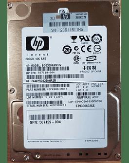 Disco Duro SAS 300GB Hitachi 2.5 SAS 10K HDD 6.0Gb/s HP Invent Enterprise Class Calidad Empresarial
