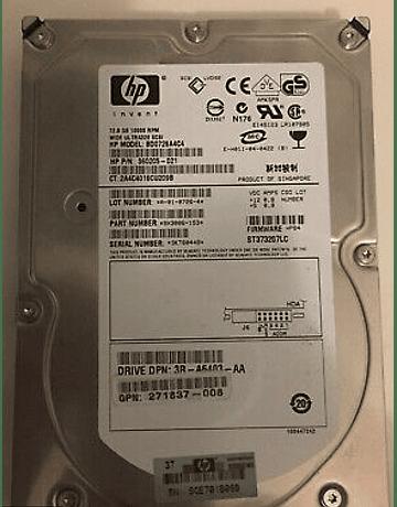 Disco Duro SAS 146GB Hitachi 2.5 SAS 10K HDD 6.0Gb/s HP Invent Enterprise Class Calidad Empresarial