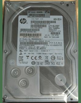 "Disco Duro SATA 2.Tb Hitachi 3  3.5"" Ultrastar 7200rpm 3.5""  6.0Gb/s HP 695996-001 658079-B21 Enterprise Class HP"