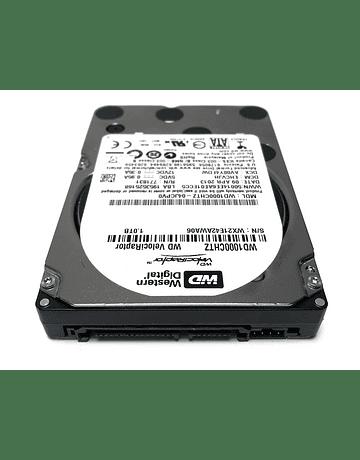 "Disco Duro SATA 1.TB Western Digital 2.5"" 10K rpm 3 6gb/s  Velociraptor WD1000CHTZ  Enterprise Class Calidad Empresarial Nuevo"