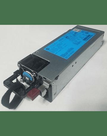 Fuente de Poder Hp 500 Watts Modelo DPS-500AB-13A 723595-101 723594-001 HSTNS-PD40 754377-001 720478-B21 G9  Power Supply