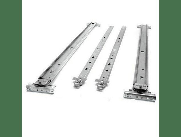 Riel HP DL380 G6 G7 Rieles interno & externo Rail Kit 487244-001 616992-001