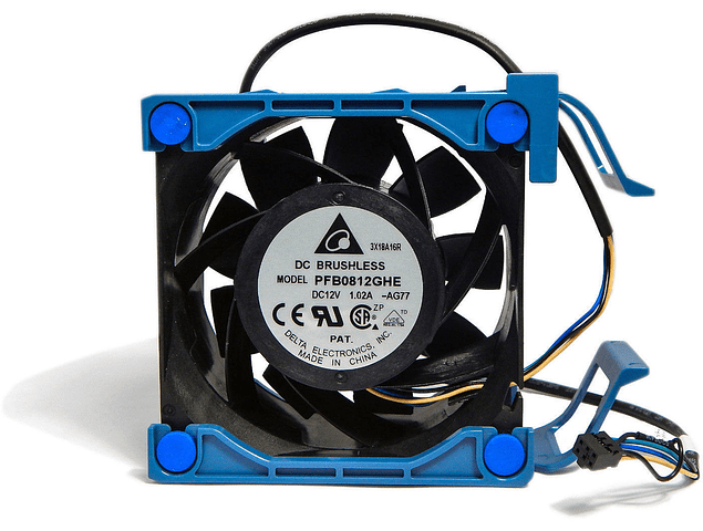 Ventilador HP ML110 G7  80 x 38 mm Sys Fan 644758-001 631569-001 PFB0812GHE