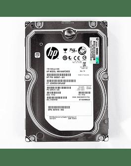 Disco Duro SAS 1.TB HP 2.5 HDD 6.0Gb/s  Enterprise Class Calidad Empresarial