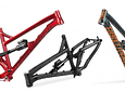 MARCO BLACKBIRD ENDURO DOBLE SUSPENSION 2020 ARO 27.5 ROJO DIABLO SIN SHOCK DARTMOOR