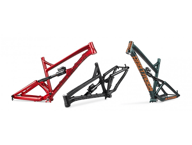 MARCO BLACKBIRD ENDURO DOBLE SUSPENSION 2020 ARO 27.5 NEGRO SIN SHOCK DARTMOOR