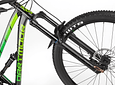 MARCO BLACKBIRD ENDURO DOBLE SUSPENSION 2019 ARO 29 NEGRO VERDE SIN SHOCK DARTMOOR