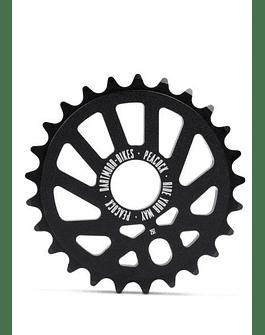 PLATO BMX PEACOCK 25T NEGRO DARTMOOR